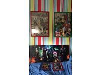 Superhero frames / canvas