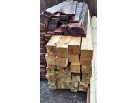 brand new complete 3ft timber fence posts,rails and slats