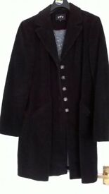 Black Corduroy Coat