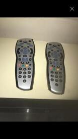 Two Sky Remotes