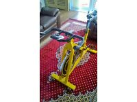static spinning bike