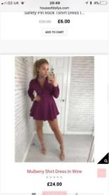 Lovely shirt dress size 8/10