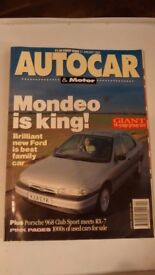 AUTOCAR & MOTOR MAGAZINE VOLUME 195 NUMBER 5 – 27 JANUARY 1993