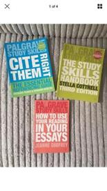 Study skills books essential for any degree course