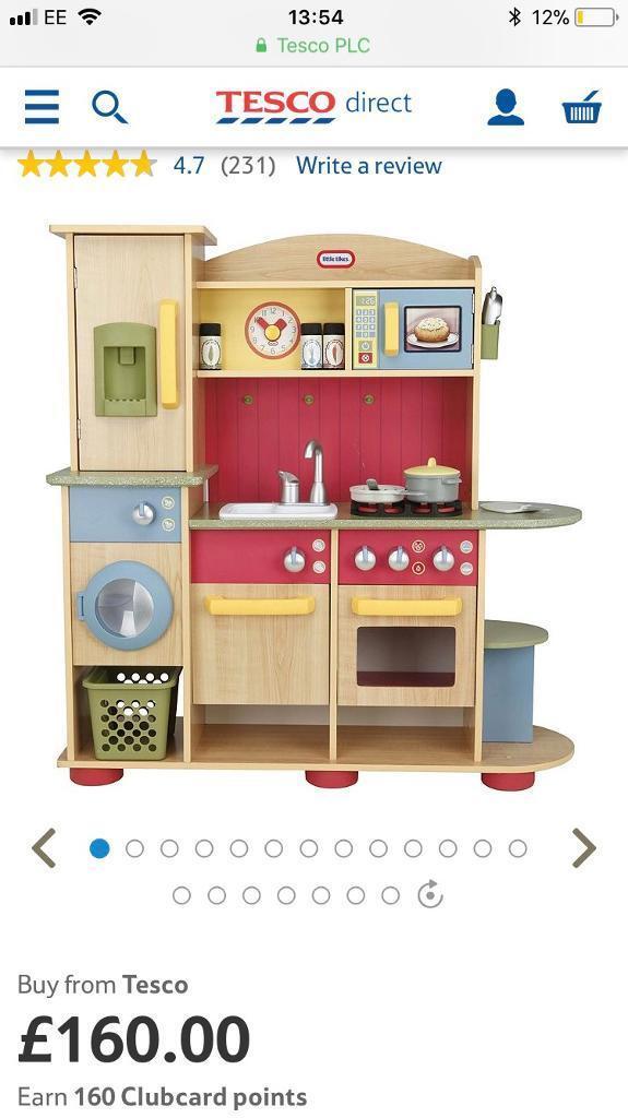 *Little tikes premium wooden kitchen*