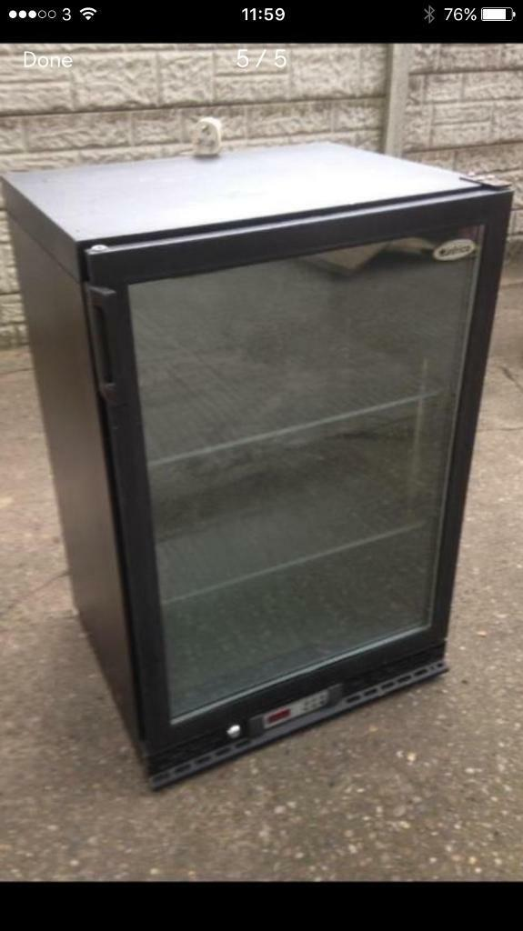 undercounter glass chiller commercial full working order only £120