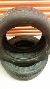 (109) Pneus d'Hiver - Winter Tires 255-50-19 Michelin 8/32