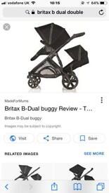 Britax b dual double & single