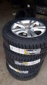 225 65 17 winters on 2015 Chevy Equinox GMC Terrain alloy rims 5x120
