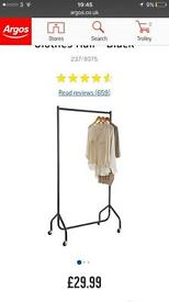 Argos heavy duty clothes rail