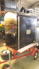 Large potato oven on Trailor