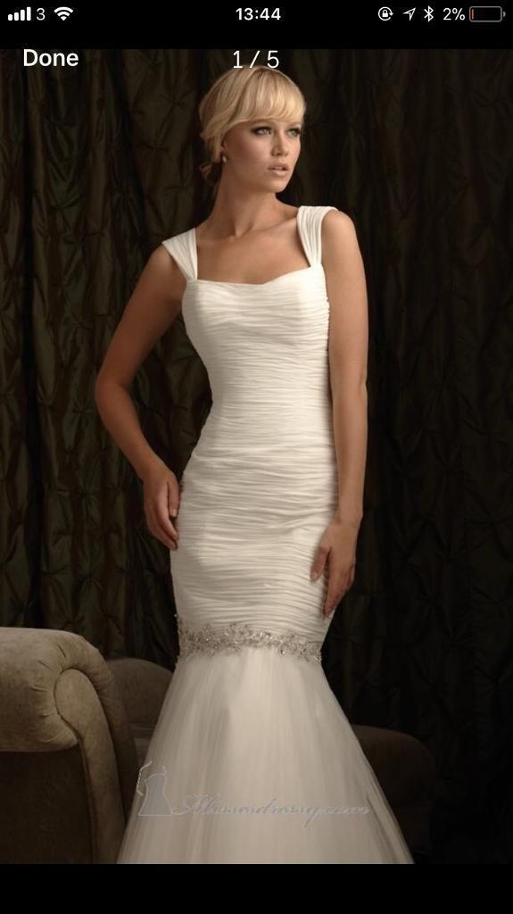 Allure 2418 - Off White Wedding Dress