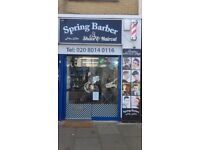 ***Barber Shop For Sale In Great Location in Hounslow***