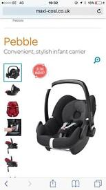 Maxi cost pebble car seat