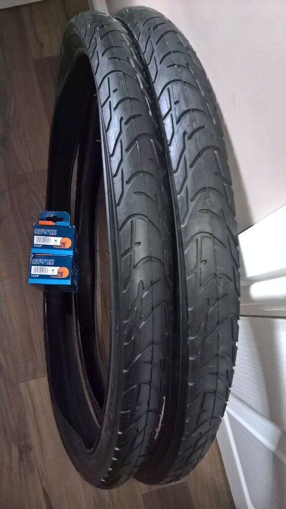 brand new tyres & tubes 26x1.95