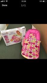 New baby bundle - bath and breast feeding