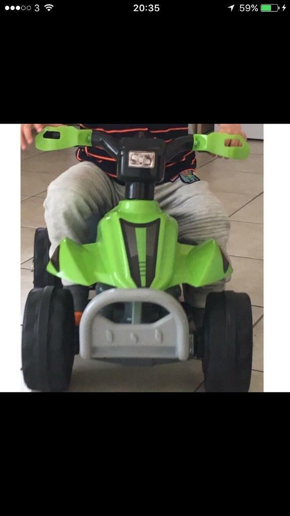 Toddler Quad Bike Chargeable Very Good Condition In Cambridge