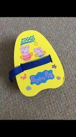 Zoggs peppa pig swim float