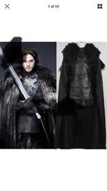 Jon Snow adult fancy dress costume