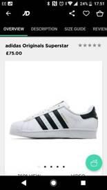 Adidas superstar trainers