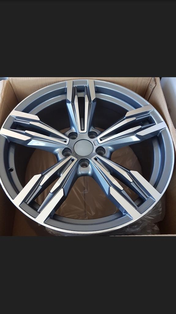 """19"""" 433m Style Alloy Wheel in Gunmetal staggered for BMW"""