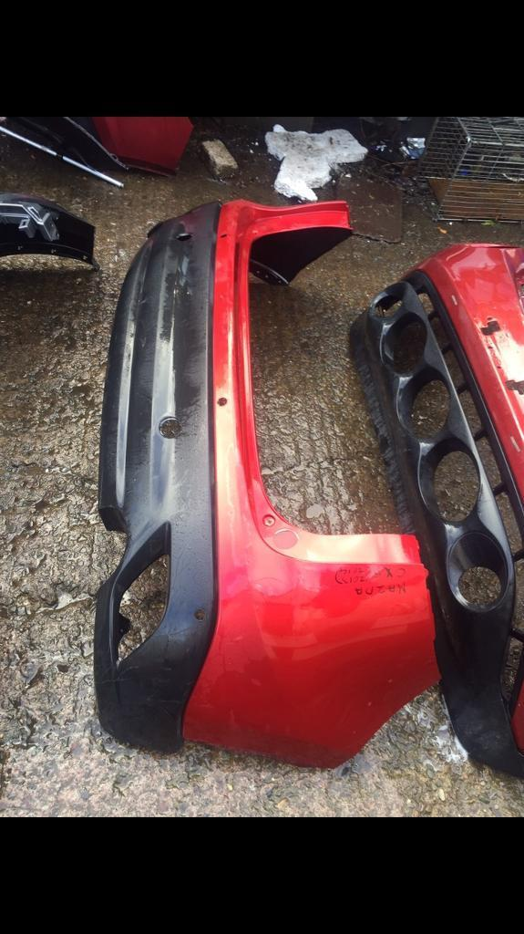 MAzda 3 6 Cx5 genuine front and rear bumper can post