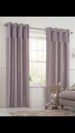 Next mauve curtains 90x90
