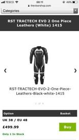 RST TRACTECH EVO 2 motorcycle suit