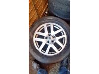 "GENUINE LAND ROVER DISCOVERY 3/4 18"" FIVE SPOKE ALLOY WHEEL X 1."