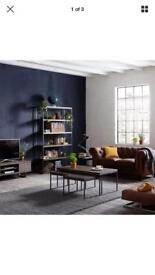 John Lewis industrial Calia coffee table with nest of 2 RRP£ 499 brand new