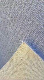 Grey carpet the size is 8 ft 2 ins x 6 ft 2 ins