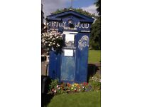 police box for rent at bruintsfield link