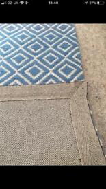Wool runner rug - brand new