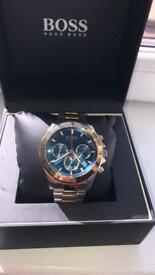 Hugo boss watch sport lux blue/gold/silver