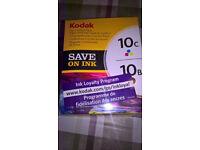 3 Kodak Printer Ink Cartidges