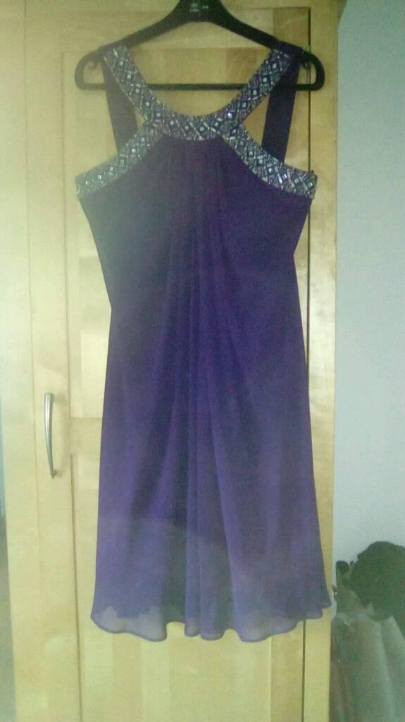 Purple dress sequin neck. Size 8in Belfast City Centre, BelfastGumtree - JS Boutique Dress. Size 8. Great condition