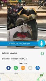 Superman keyring