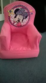 Inflatable toddler chair