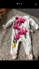 Ted baker girls baby grow (3-6 months)