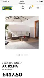 Ikea patio sofa