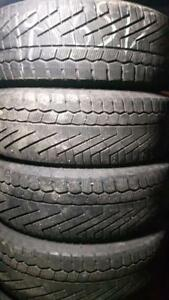 195/65/15 Continental used winter tires