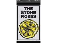 2 stone roses tickets for Wembley seated
