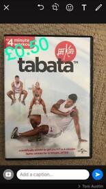 Tabata fitness DVD