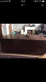 Drake wooden storage chest