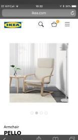 2 x Ikea chairs