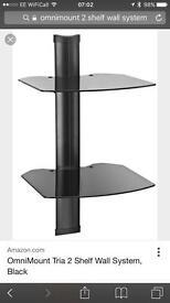 Omnimount 2 shelf wall mount