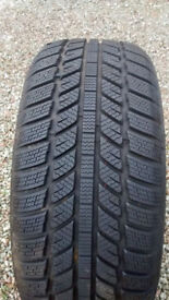 Two Winter tyres for sale 225/55/R16 (used one winter)