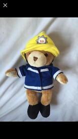 Fire fighter teddy