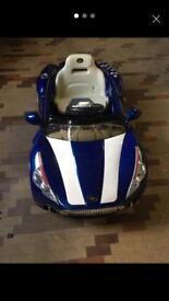 12v ride on sports car