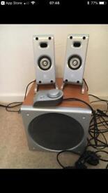 Logitech Z3 PC multimedia speaker system
